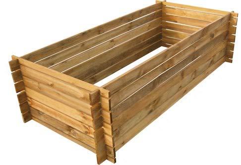 naturholz-shop Stabiler Holzkomposter...