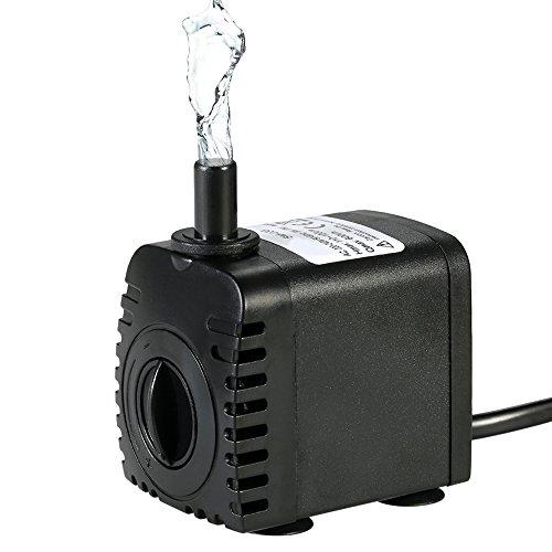 Decdeal Mini Wasserpumpe 600L/H 8W...