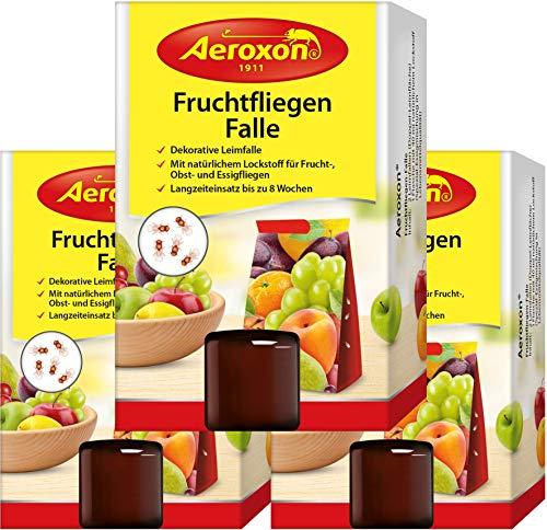 Aeroxon - Fruchtfliegenfalle - 3 Stück...