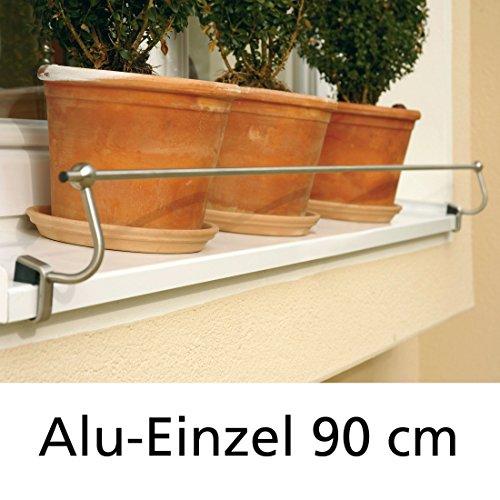 Blumenkasten-Halterung 90 cm, Edelstahl...