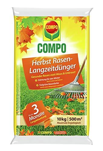 Compo Herbst-Rasen Langzeit-Dünger, 3...