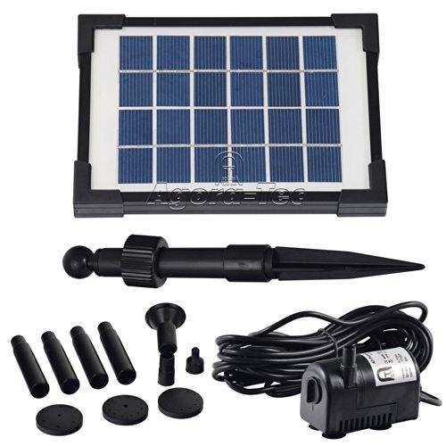 Agora-Tec® AT-2W Solar Teichpumpe 2...