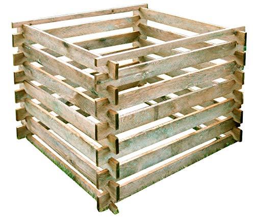 Gartenpirat Komposter 90x90 cm mit...