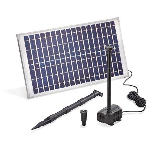 Solar Teichpumpe 25 Watt Solarmodul 875...