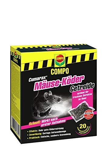 Compo Cumarax Mäuse-Köder Getreide,...
