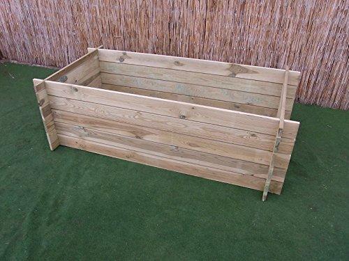 BIHL Stabiler Holzkomposter Komposter...