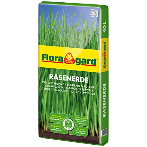 Floragard Rasenerde 40 L • hochwertige...