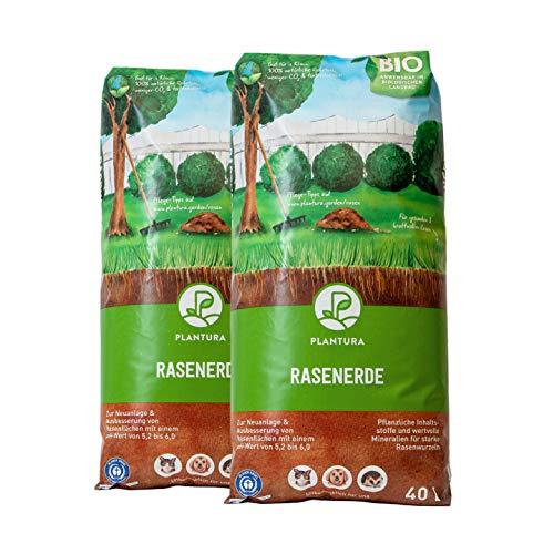 Plantura Bio Rasenerde, 80 L,...