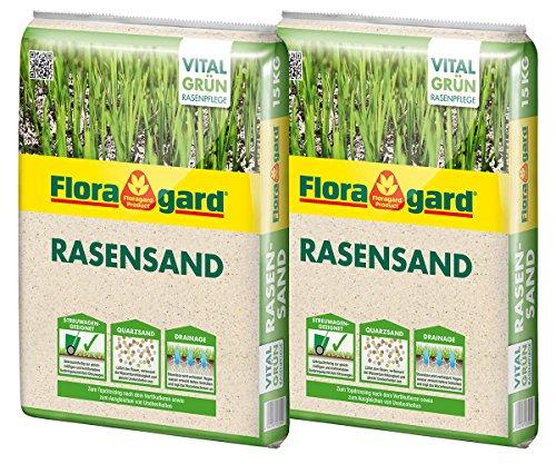Floragard Rasen-Sand 2x15 kg für 20 m²...