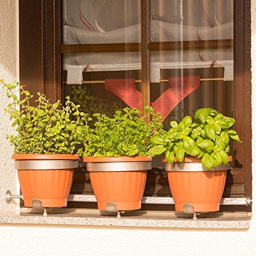 Blumentopfhalter Vario-Fix Solo für...