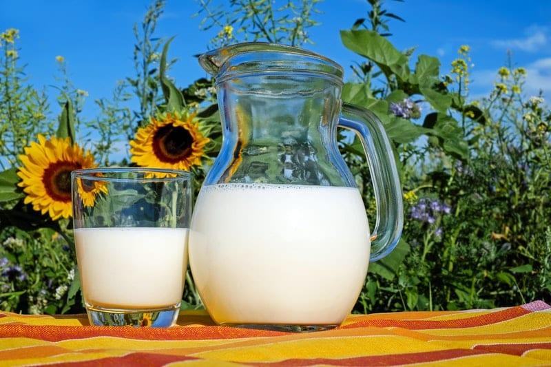 Milch als Hausmittel