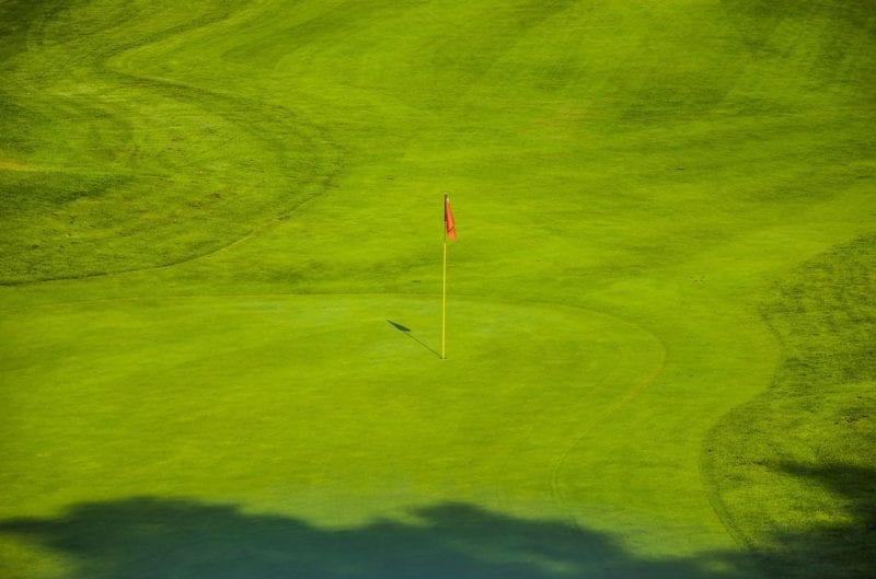 Golfplatz Rasensprenger