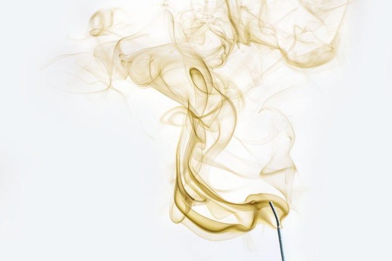 Rauch beim Wühlmausgas