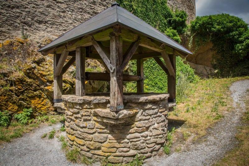 Brunnen für Hochwasserautomat
