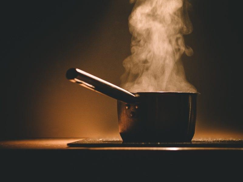 Feuchtemessgerät - Kochen