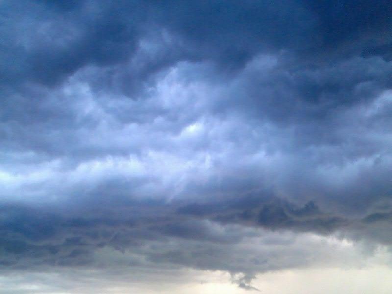 Solar Teichpumpe - Wolken