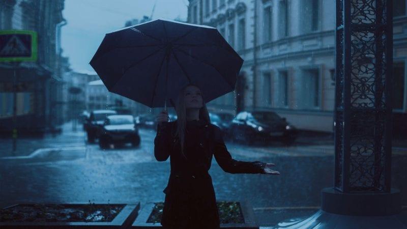 Tiefdruck - Niederschlag