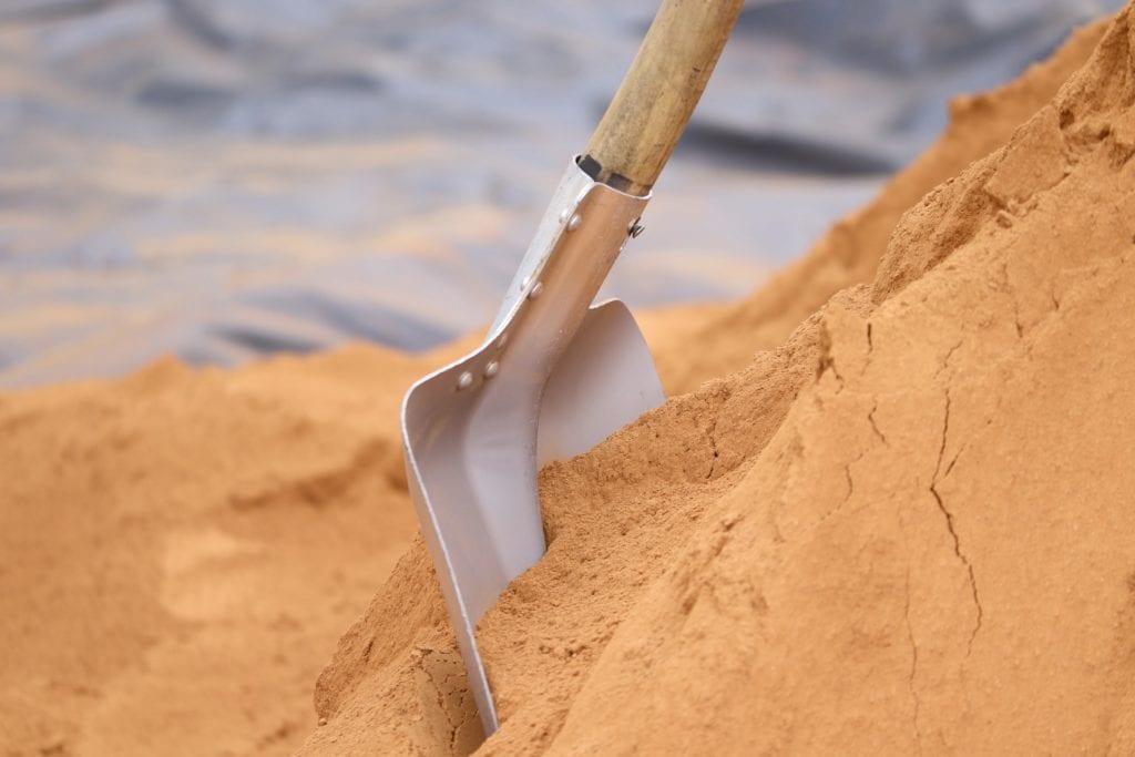 Sandkasten Sand austauschen