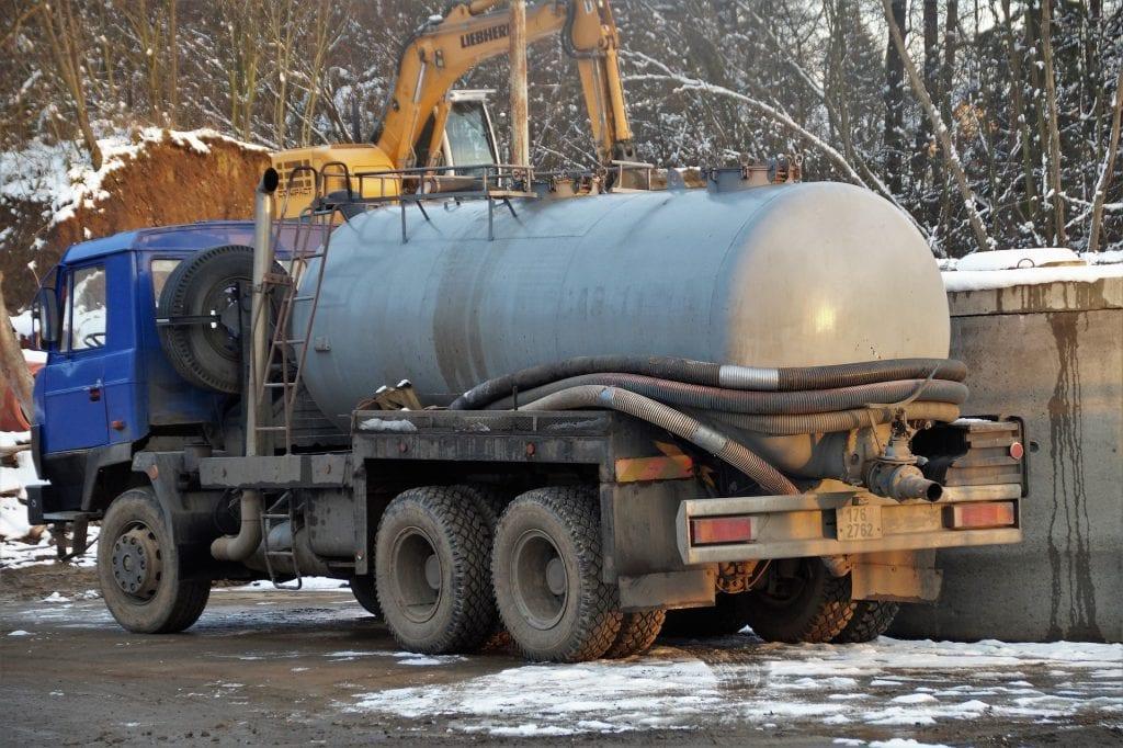 Abwasser Truck