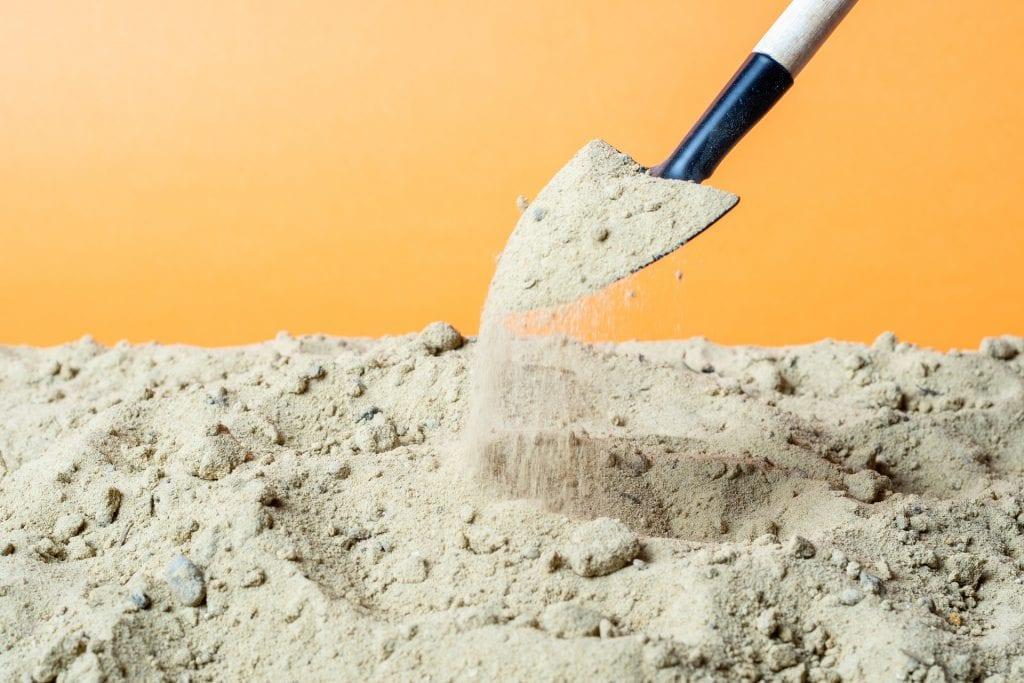 Boden sanden