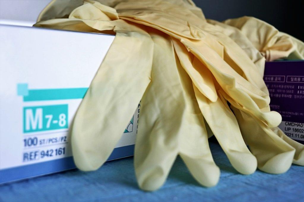 Handschuhe - Rattenköder